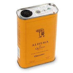 Olio extravergine di oliva biologico Alhema de Queiles 500 ml