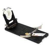 Porta prosciutto girevole e pieghevole Jamotec JP Luxe (acciaio e plastica)
