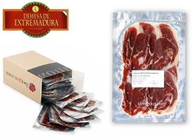 Busta da 100 gr di prosciutto iberico di bellota DO Dehesa de Extremadura