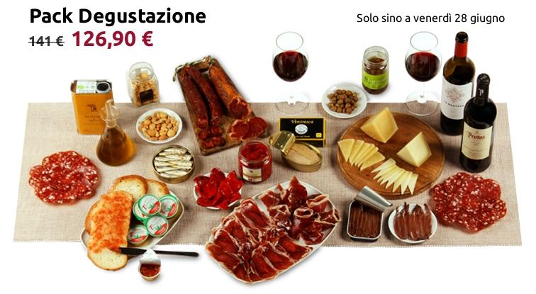 Pack degustazione prodotti spagnoli per 5-6 persone