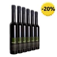 6 x Olio extravergine di oliva biologico Oleura arbequina 500 ml
